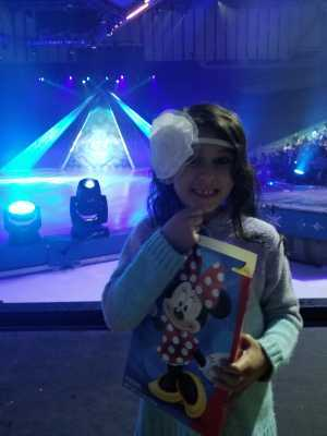 Janet attended Disney on Ice Presents Frozen - Ice Shows on Apr 25th 2019 via VetTix