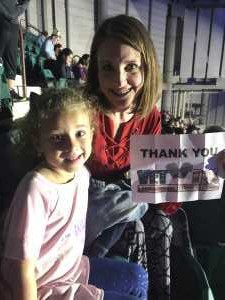 Katrina attended Disney on Ice Presents Frozen - Ice Shows on Apr 25th 2019 via VetTix