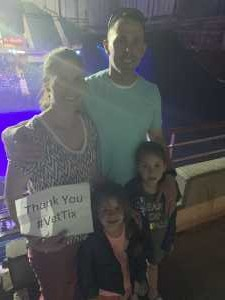James attended Disney on Ice Presents Frozen - Ice Shows on Apr 25th 2019 via VetTix