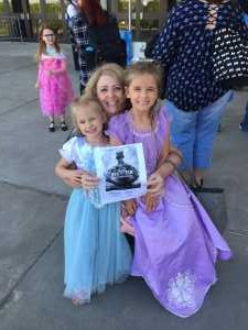 Julie attended Disney on Ice Presents Frozen - Ice Shows on Apr 25th 2019 via VetTix