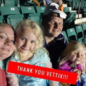 Kayla attended Disney on Ice Presents Frozen - Ice Shows on Apr 25th 2019 via VetTix