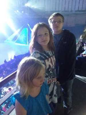 David attended Disney on Ice Presents Frozen - Ice Shows on Apr 25th 2019 via VetTix