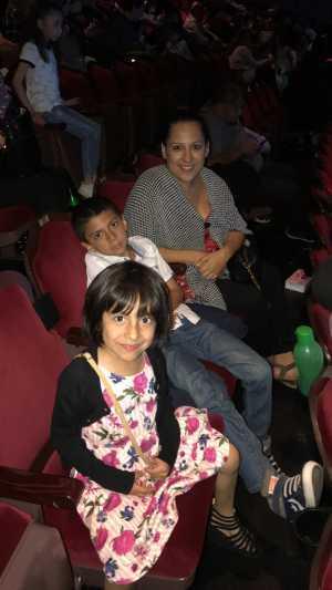 Morales attended Disney's Dcappella - Other on Mar 15th 2019 via VetTix