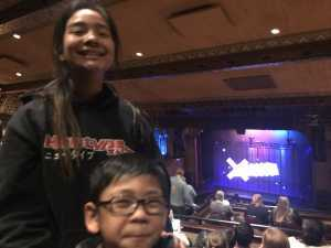 Carina attended Disney's Dcappella - Other on Mar 15th 2019 via VetTix