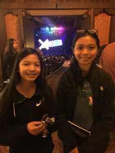 Darren attended Disney's Dcappella - Other on Mar 15th 2019 via VetTix