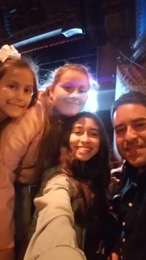 Florentino attended Disney's Dcappella - Other on Mar 15th 2019 via VetTix