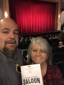 Nathan attended Cirque Eloize Saloon on Mar 24th 2019 via VetTix