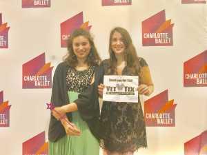 LOUIS & C attended Charlotte Ballet's Peter Pan on Mar 16th 2019 via VetTix