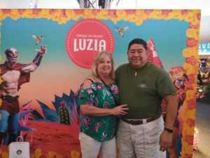 Jose attended Cirque Du Soleil - Luzia a Walking Dream of Mexico - *1: 30 PM Show on Mar 17th 2019 via VetTix