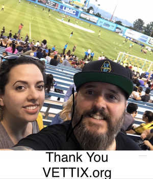 Joseph attended Las Vegas Lights vs. Seattle Sounders FC 2 - USL on Apr 13th 2019 via VetTix
