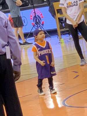 Christopher attended Phoenix Suns vs. Detroit Pistons - NBA on Mar 21st 2019 via VetTix