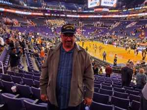 Clifton attended Phoenix Suns vs. Detroit Pistons - NBA on Mar 21st 2019 via VetTix