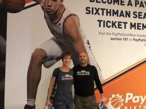 Richard attended Phoenix Suns vs. Detroit Pistons - NBA on Mar 21st 2019 via VetTix