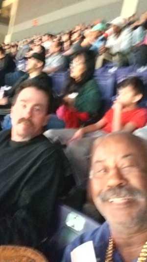 Andrew attended Phoenix Suns vs. Detroit Pistons - NBA on Mar 21st 2019 via VetTix