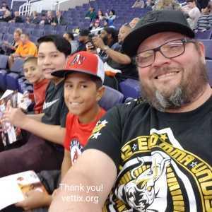 Jay attended Phoenix Suns vs. Detroit Pistons - NBA on Mar 21st 2019 via VetTix