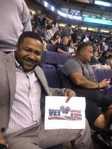 Sean attended Phoenix Suns vs. Detroit Pistons - NBA on Mar 21st 2019 via VetTix