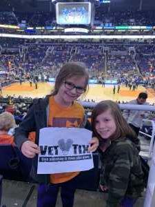 Michael attended Phoenix Suns vs. Detroit Pistons - NBA on Mar 21st 2019 via VetTix