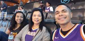 Edgar attended Phoenix Suns vs. Detroit Pistons - NBA on Mar 21st 2019 via VetTix