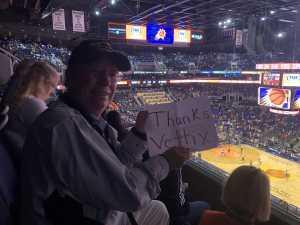 Edward attended Phoenix Suns vs. Detroit Pistons - NBA on Mar 21st 2019 via VetTix