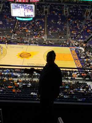MARY attended Phoenix Suns vs. Detroit Pistons - NBA on Mar 21st 2019 via VetTix