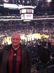 Erik Anderson attended Phoenix Suns vs. Detroit Pistons - NBA on Mar 21st 2019 via VetTix