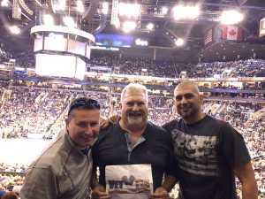 James attended Phoenix Suns vs. Detroit Pistons - NBA on Mar 21st 2019 via VetTix