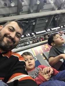 Steven attended Ft Wayne Komets vs Indy Fuel - ECHL on Apr 3rd 2019 via VetTix
