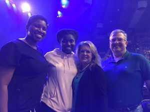 Franklin Neil attended Casting Crowns- Only Jesus Tour on Mar 23rd 2019 via VetTix