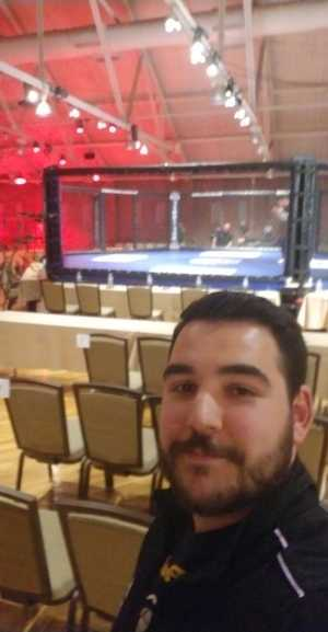 Joshua attended Combat Zone 70 - Relentless - Live Mixed Martial Arts - Presented by Combat Zone MMA on Apr 19th 2019 via VetTix