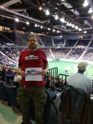 Thomas attended Rochester Knighthawks vs. Vancouver Warriors - National Lacrosse League on Apr 20th 2019 via VetTix
