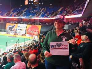 Tammi attended New England Black Wolves vs. San Diego Seals - Fan Appreciation Night - National Lacrosse League on Apr 6th 2019 via VetTix