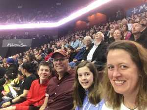 Meredith attended New England Black Wolves vs. San Diego Seals - Fan Appreciation Night - National Lacrosse League on Apr 6th 2019 via VetTix
