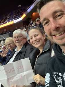John  attended New England Black Wolves vs. San Diego Seals - Fan Appreciation Night - National Lacrosse League on Apr 6th 2019 via VetTix