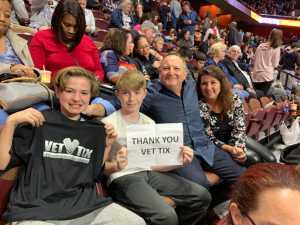 Michael Morris attended New England Black Wolves vs. San Diego Seals - Fan Appreciation Night - National Lacrosse League on Apr 6th 2019 via VetTix