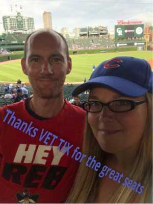 Steven attended Chicago Cubs vs. Colorado Rockies - MLB on Jun 5th 2019 via VetTix