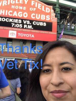 Josue attended Chicago Cubs vs. Colorado Rockies - MLB on Jun 5th 2019 via VetTix