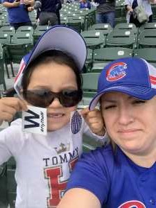 Rebecca attended Chicago Cubs vs. Colorado Rockies - MLB on Jun 6th 2019 via VetTix