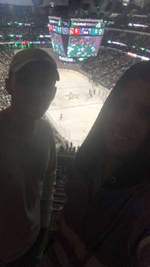Forrest attended Dallas Stars vs. Florida Panthers - NHL on Mar 19th 2019 via VetTix