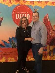 Kevin attended Cirque Du Soleil - Luzia a Walking Dream of Mexico on Mar 24th 2019 via VetTix