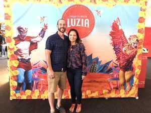 Derk attended Cirque Du Soleil - Luzia a Walking Dream of Mexico on Mar 24th 2019 via VetTix