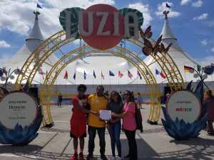Rita attended Cirque Du Soleil - Luzia a Walking Dream of Mexico on Mar 24th 2019 via VetTix