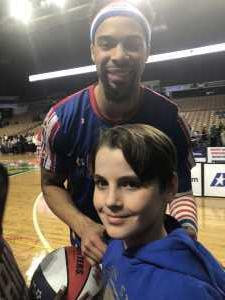 Michael attended Harlem Globetrotters - Fan Powered Wold Tour on Mar 23rd 2019 via VetTix