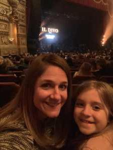 Kristin attended Il Divo: Timeless Tour - Pop on Mar 28th 2019 via VetTix
