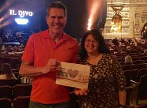 Henry attended Il Divo: Timeless Tour - Pop on Mar 28th 2019 via VetTix
