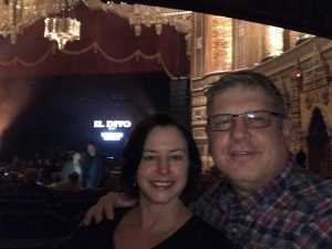 Dennis attended Il Divo: Timeless Tour - Pop on Mar 28th 2019 via VetTix