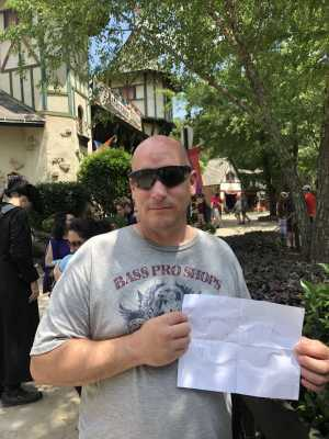 Craig attended The Georgia Renaissance Festival - Tickets Good for Any Day of Festival on Apr 13th 2019 via VetTix