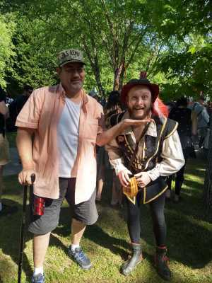 Lonnie attended The Georgia Renaissance Festival - Tickets Good for Any Day of Festival on Apr 13th 2019 via VetTix