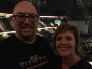 Thomas attended Kelly Clarkson on Mar 21st 2019 via VetTix