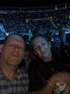 Walter attended Kelly Clarkson on Mar 21st 2019 via VetTix