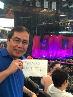 Joshua attended P! Nk: Beautiful Trauma World Tour on Mar 21st 2019 via VetTix
